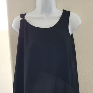 Chiffon Overlay with Hardware Top